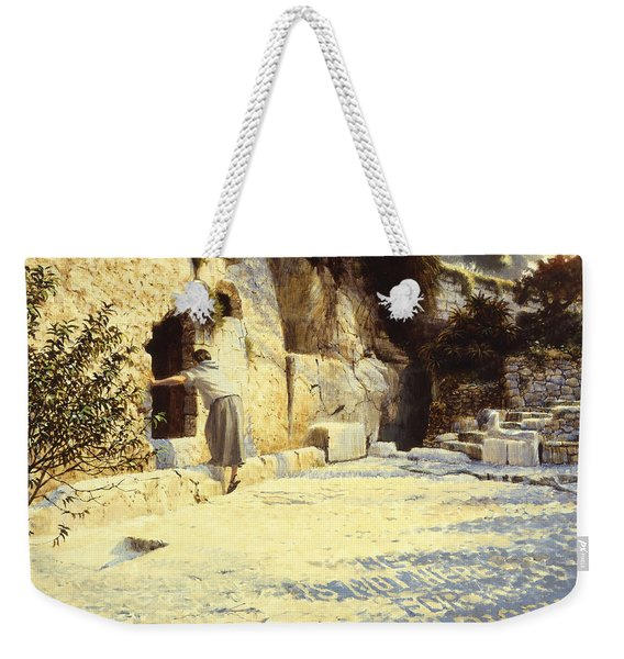 He Is Risen Weekender Tote Bag