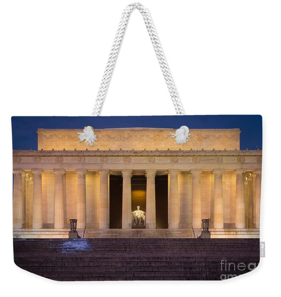 He Who Saved The Union Weekender Tote Bag