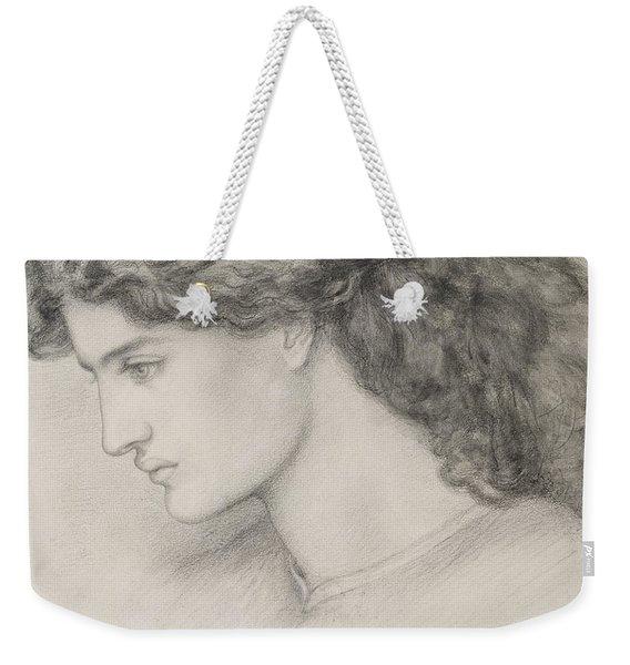 Head Of A Woman Weekender Tote Bag
