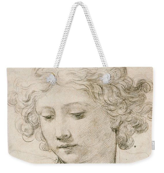 Head Of An Angel Weekender Tote Bag