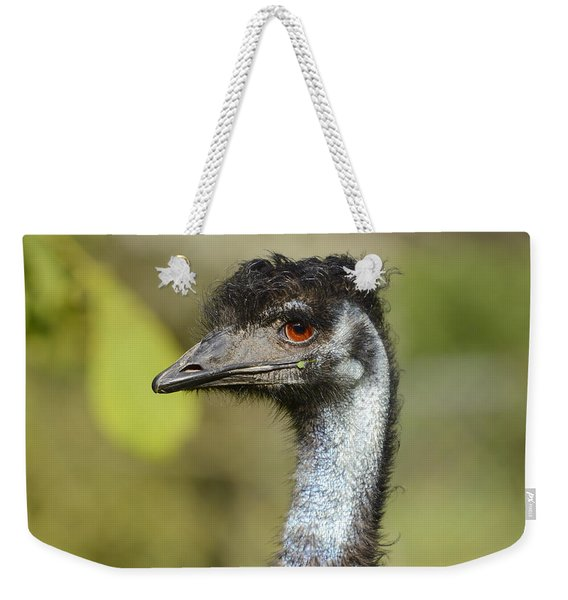 Head Of An Australian Emu Weekender Tote Bag