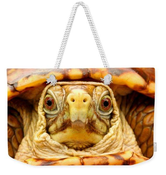 Head Shot Weekender Tote Bag