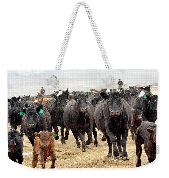 Headed For Branding Weekender Tote Bag