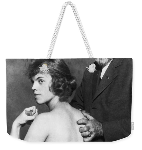 Healing For Ziegfeld Dancer Weekender Tote Bag