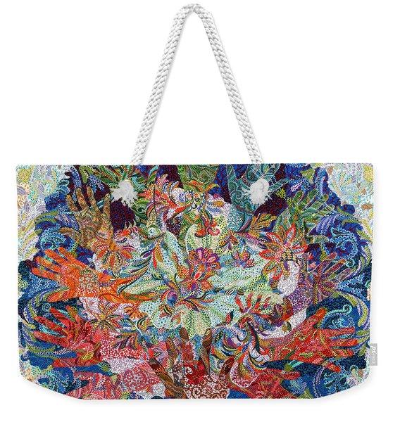 Healing Hands Weekender Tote Bag