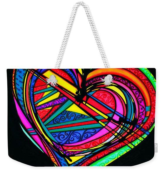 Heart Heart Heart Weekender Tote Bag