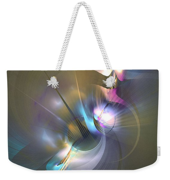 Heart Of Dragon - Abstract Art Weekender Tote Bag
