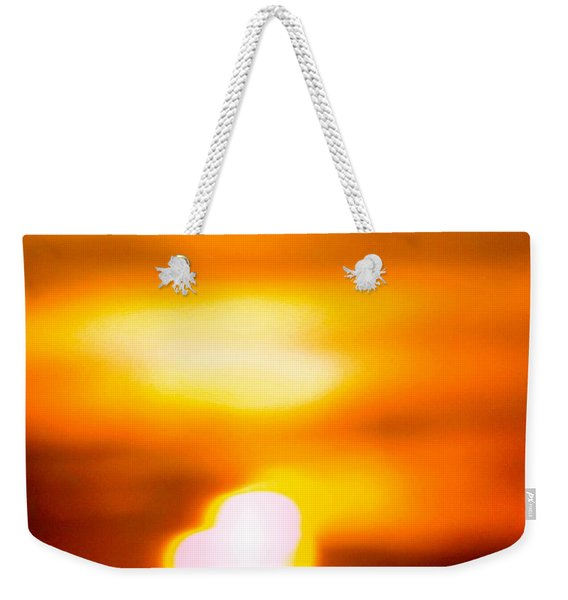 Heart Of The Day Weekender Tote Bag