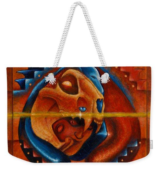 Heart Of The Jaguar Priest Weekender Tote Bag