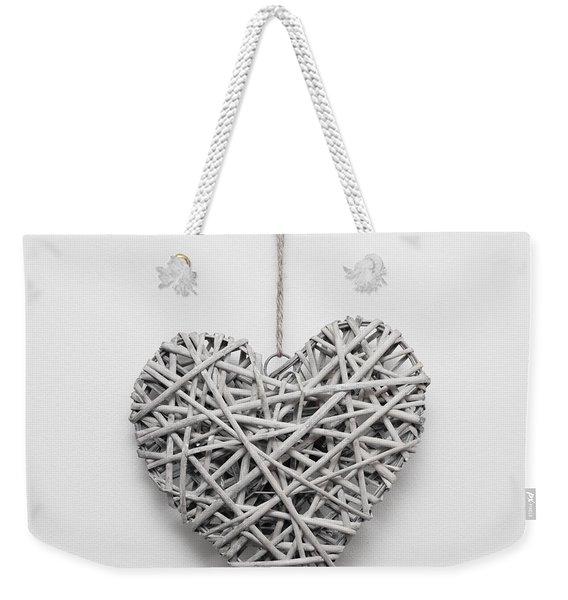 Heart Ornament Weekender Tote Bag