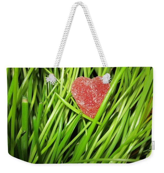 Hearty Weekender Tote Bag