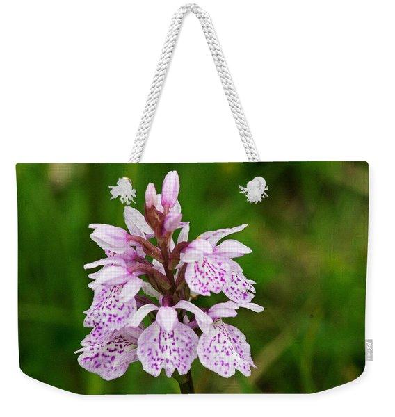 Heath Spotted Orchid Weekender Tote Bag