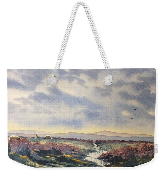 Heather On The Road To Fairy Plain  Weekender Tote Bag
