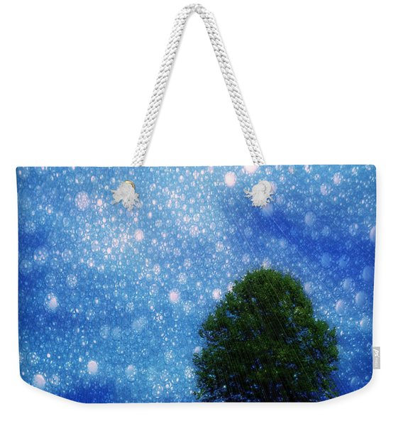 Heaven And Earth Weekender Tote Bag