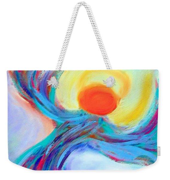Heaven Sent Digital Art Painting Weekender Tote Bag