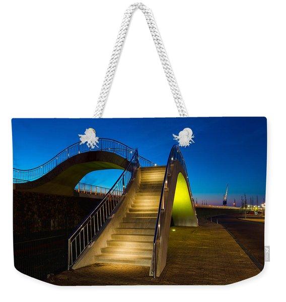 Heavenly Stairs Weekender Tote Bag