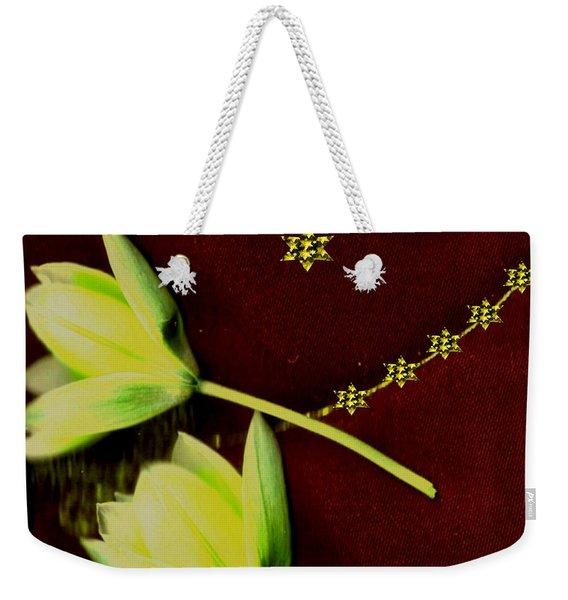 Heavenly Stars On The Sacred Sky Weekender Tote Bag