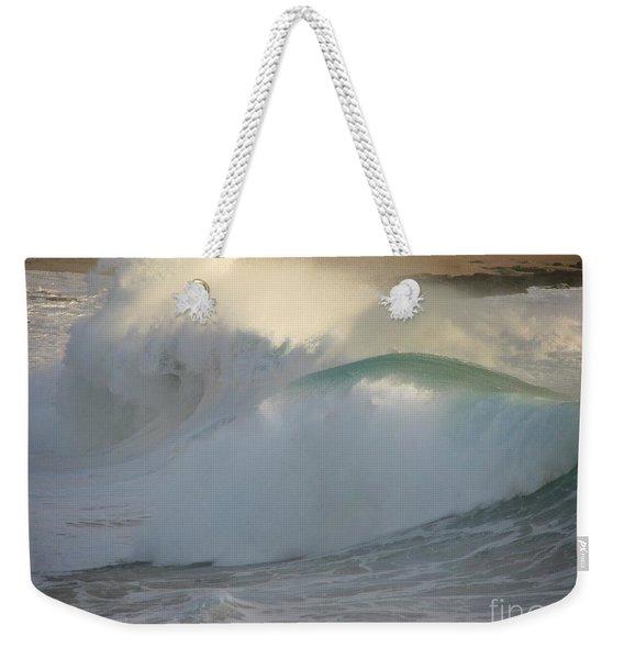 Heavy Surf At Carmel River Beach Weekender Tote Bag