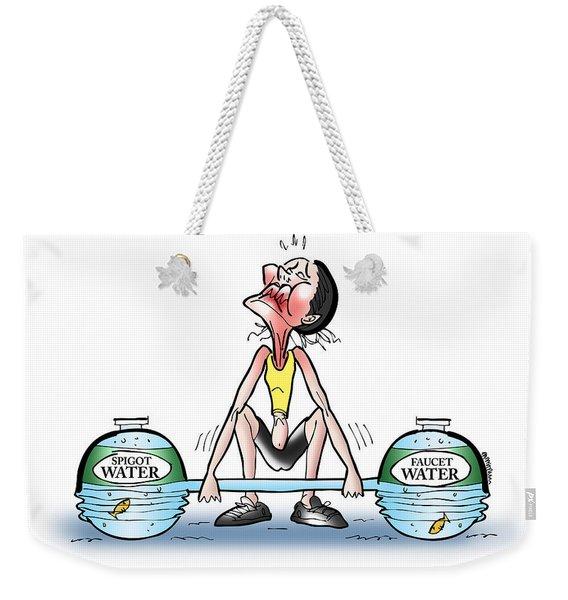 Heavy Water Weekender Tote Bag