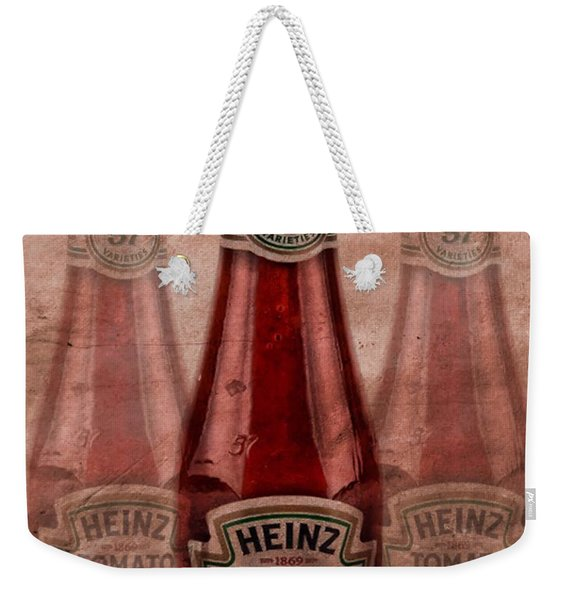 Heinz Tomato Ketchup Weekender Tote Bag