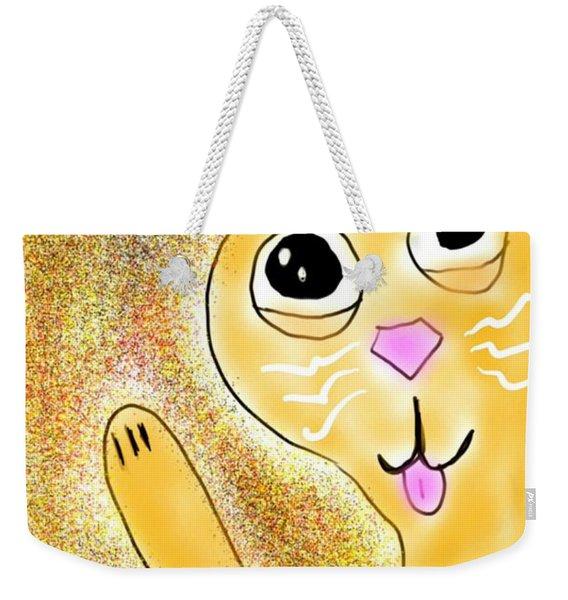 Hello Little Kitty Weekender Tote Bag