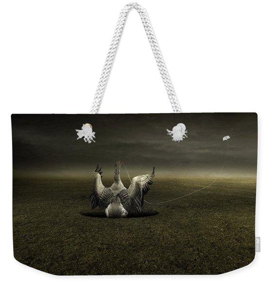 Help On The Way Weekender Tote Bag