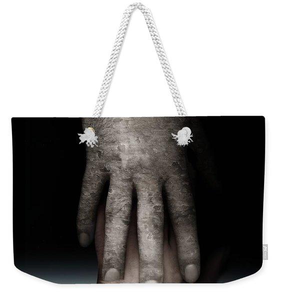 Helping Hand Weekender Tote Bag