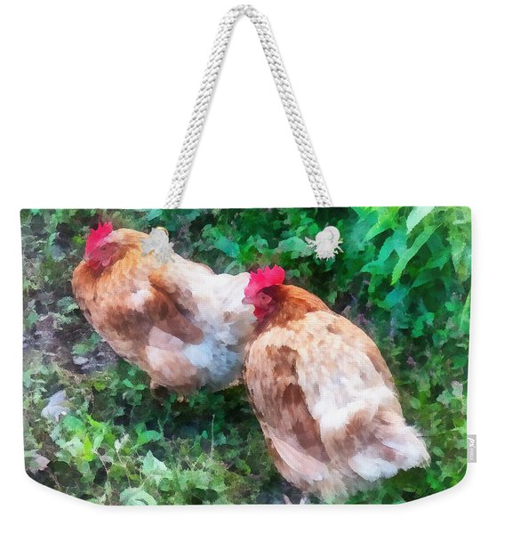 Hen Party Weekender Tote Bag