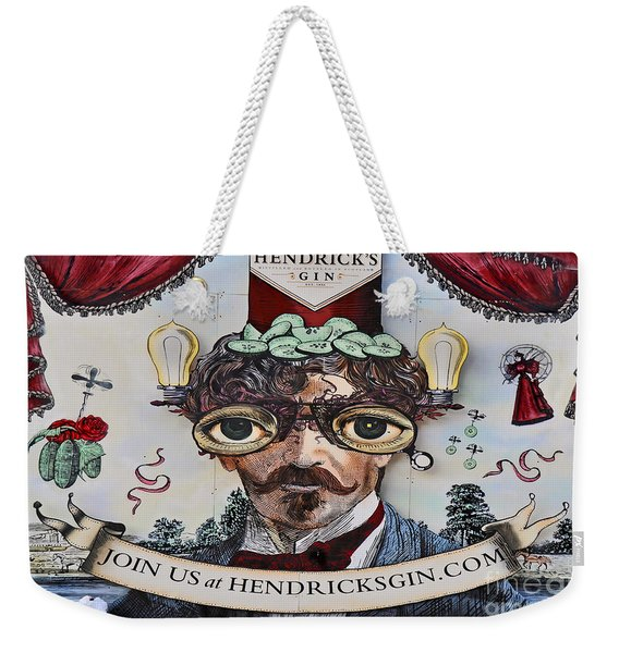 Hendrick's Gin Weekender Tote Bag