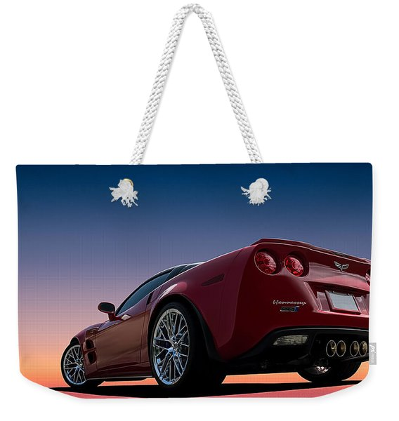 Hennessey Red Weekender Tote Bag