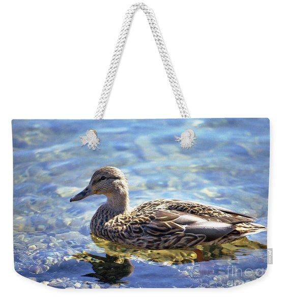 Hen's Reflection Weekender Tote Bag