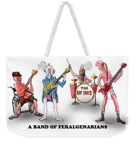 Hep Coots Weekender Tote Bag
