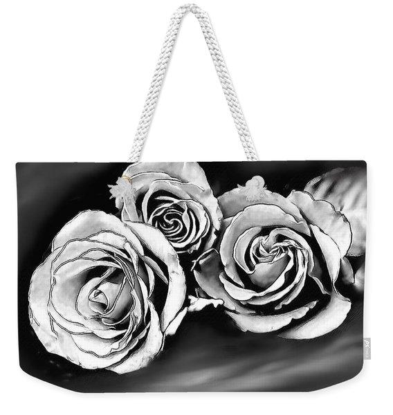 Her Roses Weekender Tote Bag
