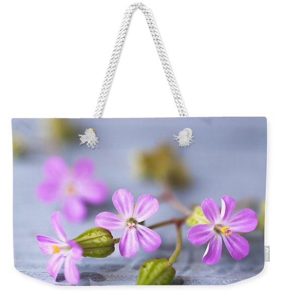 Herb Robert Weekender Tote Bag