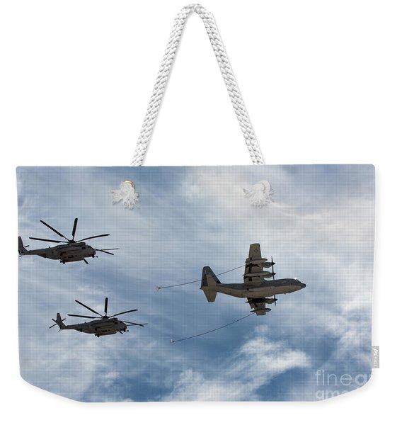 Hercules And Sea Stallions Weekender Tote Bag