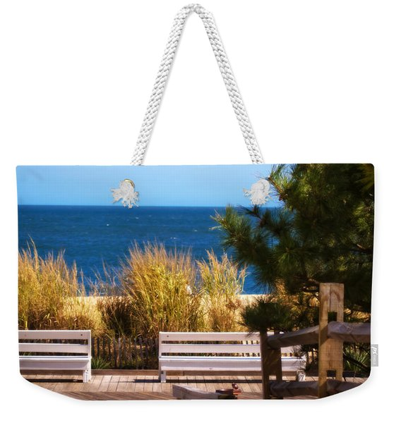 Here At Rehoboth Weekender Tote Bag