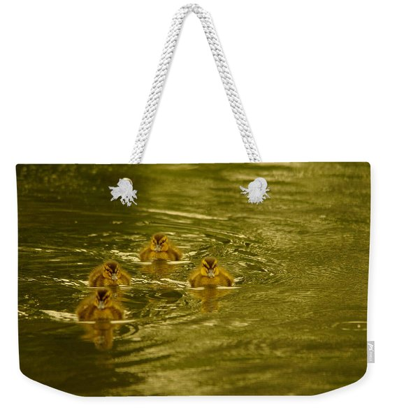 Here Comes The Little Bread Beggers Weekender Tote Bag