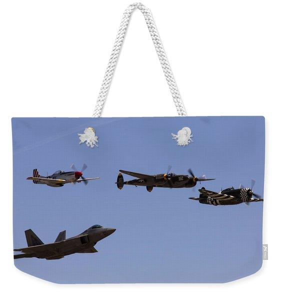 Heritage Flight Of Four Weekender Tote Bag