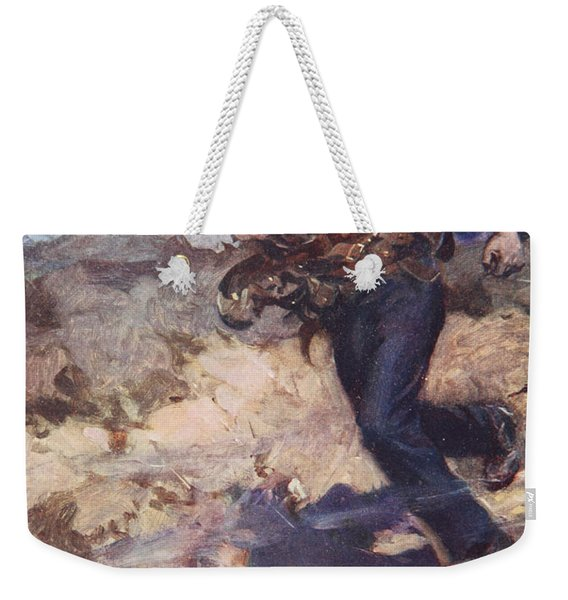 Heroic Middy Carrying Ammunition Weekender Tote Bag