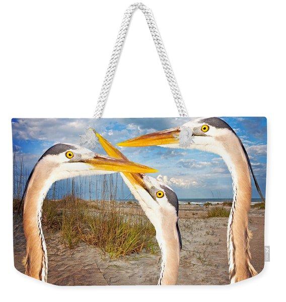 Herons Weekender Tote Bag