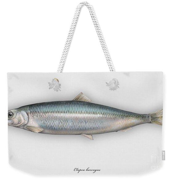 Herring  Clupea Harengus - Hareng - Arenque - Silakka - Aringa - Seafood Art Weekender Tote Bag