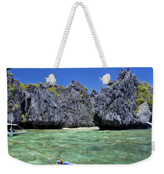 Hidden Beach Weekender Tote Bag
