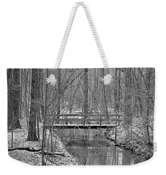 Hidden Bridge Weekender Tote Bag