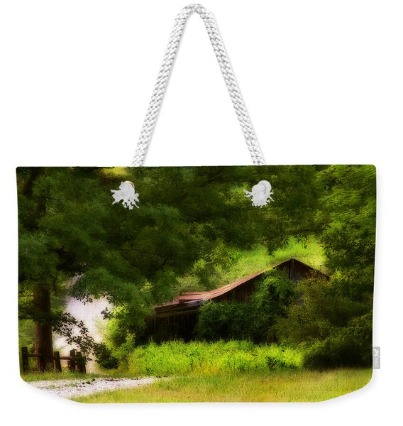 Hidden Down The Road Weekender Tote Bag