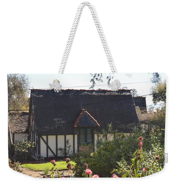 Weekender Tote Bag featuring the photograph Hidden For Time by Laurie Lundquist