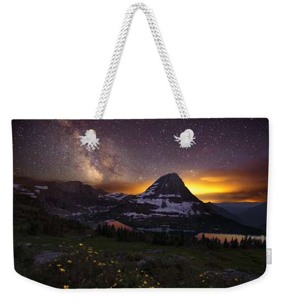 Hidden Galaxy Weekender Tote Bag
