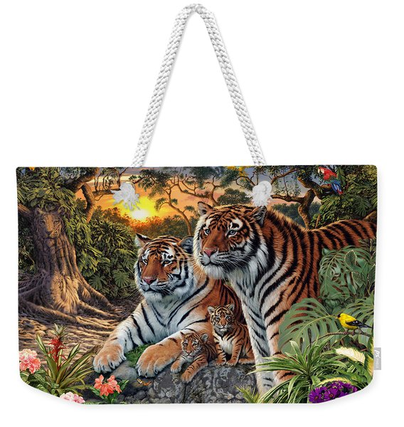 Hidden Images - Tigers Weekender Tote Bag