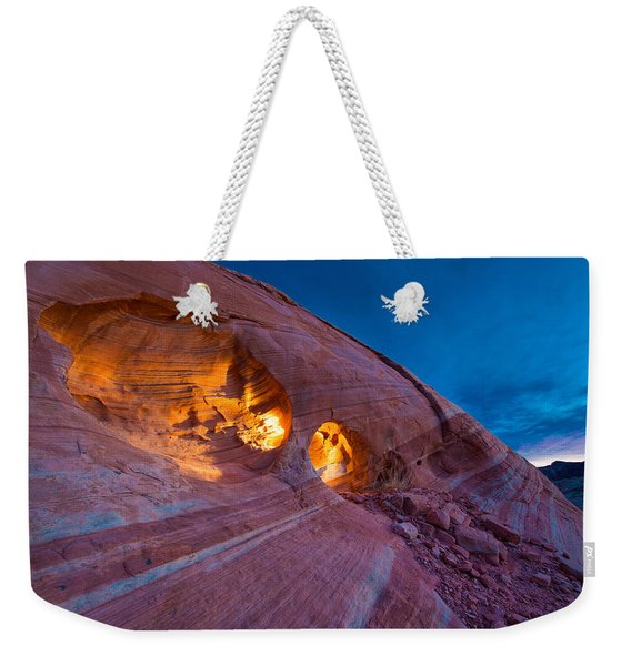Hidden Light Weekender Tote Bag