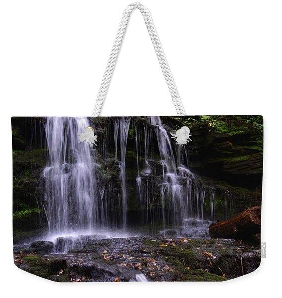 Hidden Waterfalls Of Wayne County I Weekender Tote Bag