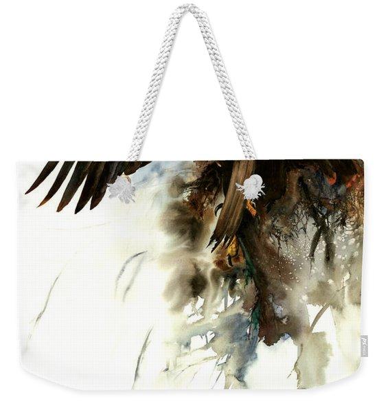 High And Mighty Weekender Tote Bag